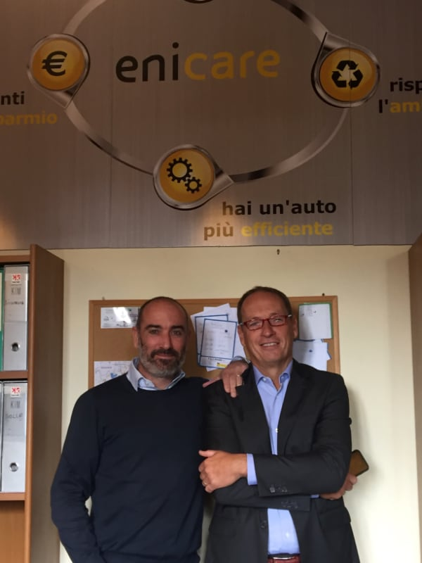 Lorenzo Magni, amministratore delegato di F.lli Magni (a sx) e Andrea Grassilli, responsabile Mass Market