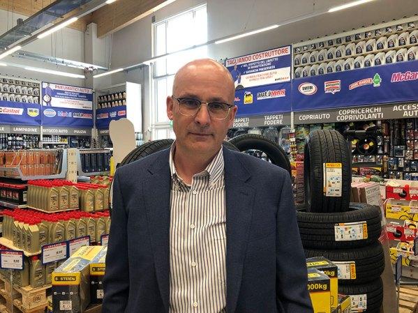 Sergio Paterno, della famiglia Paterno proprietaria dell'insegna Eurobrico