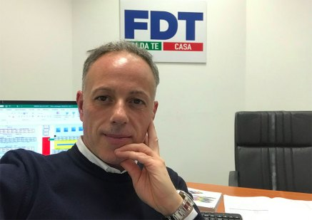 Giovanni Todaro, responsabile commerciale di Fdt