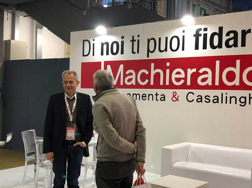 A sinistra Fabrizio Machieraldo