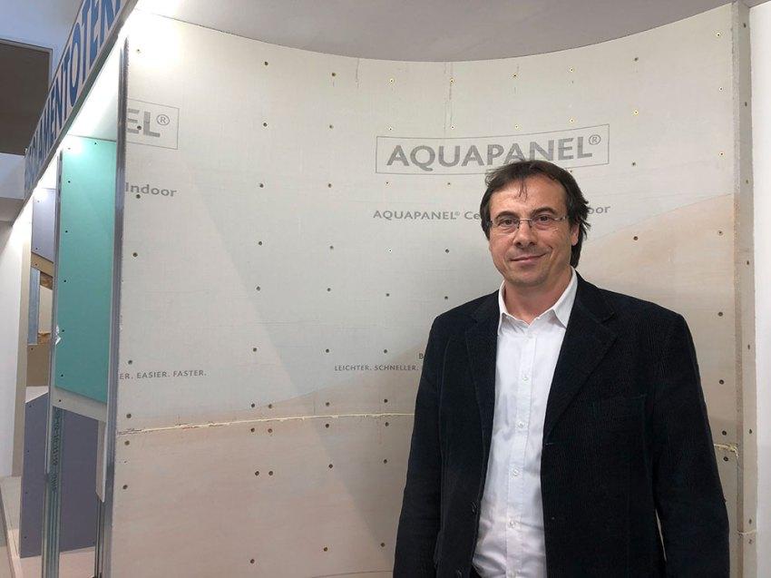 Maurizio Stecca, product manager DIY di Knauf Italia