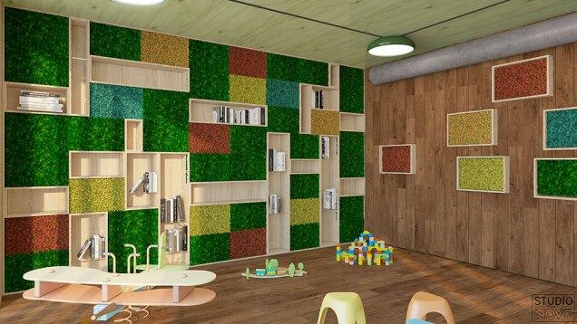 Il ristorante Erba Matta all'interno del garden Center Viridea di Cusago (MI)