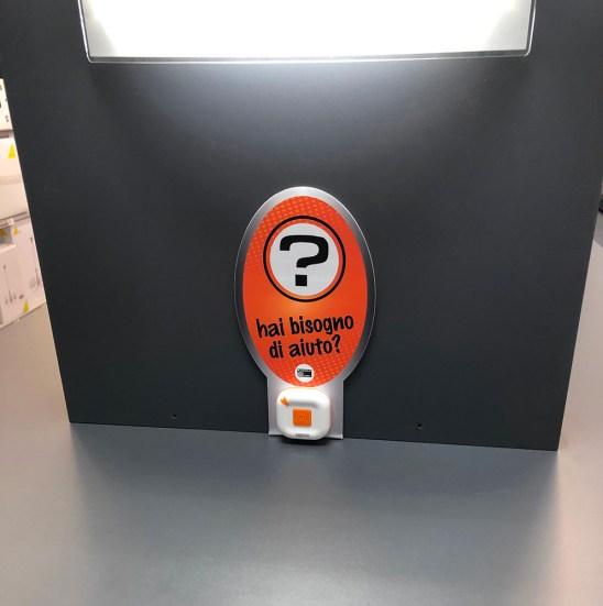 IL nuovo dispositivo a chiamata a disposizione dei clienti