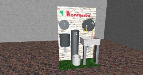 Bonfante, l'espositore da parete, che sarà pronto il 13 gennaio 2020