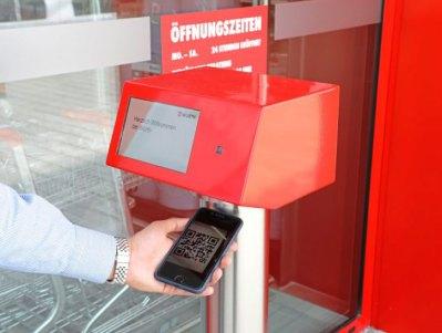 Le fasi di acquisto nel negozio di Vöhringen, in Baviera