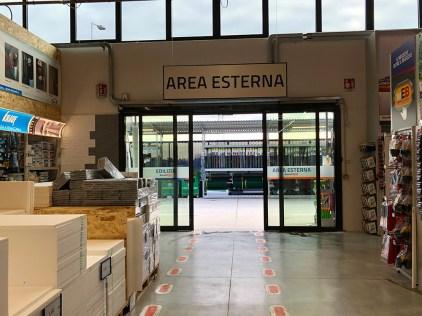 Eurobrico in via Valsugana a Cassola (VI)