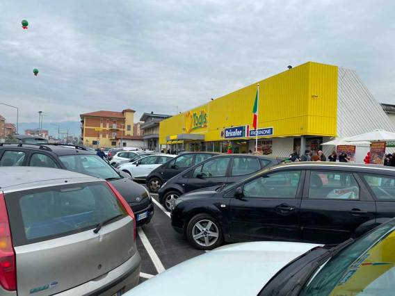 Il nuovo shop in shop Bricofer insieme a Todis a Frosinone