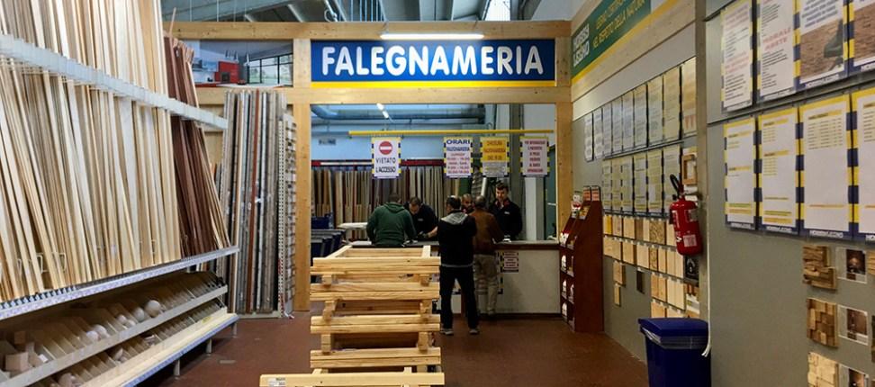 La nuova falegnameria Hobby&Legno di Bologna