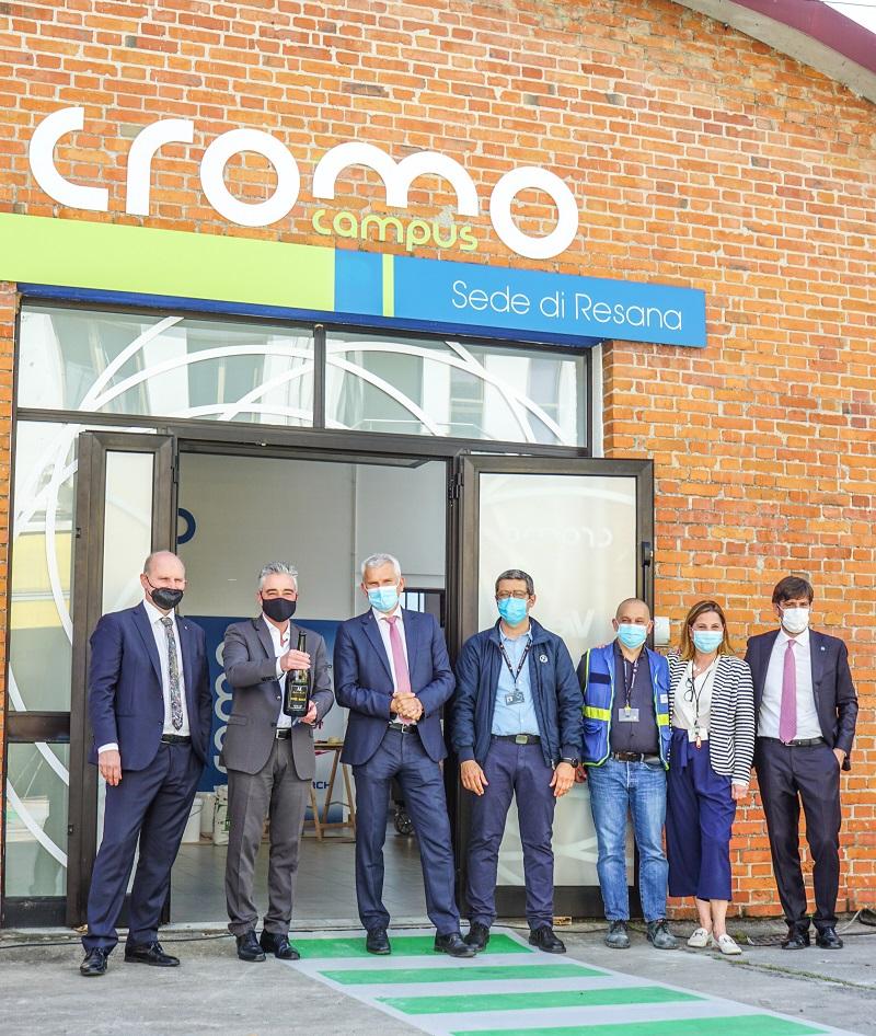 Cromology, inaugurazione del Cromocampus di Resana