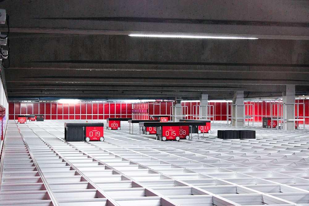 Il sistema logistico automatizzato di Masidef