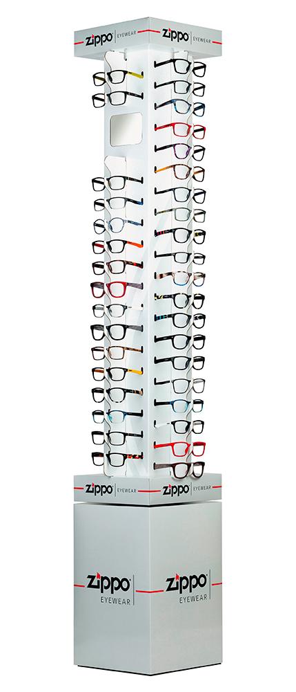 La linea eyewear di Zippo
