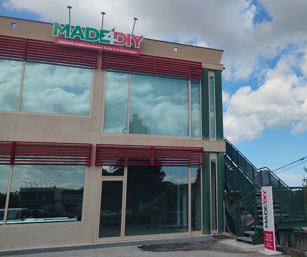 La nuova sede di Made4Diy a Rimini
