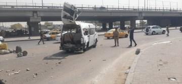 Bağdat'ta patlama: 5 yaralı