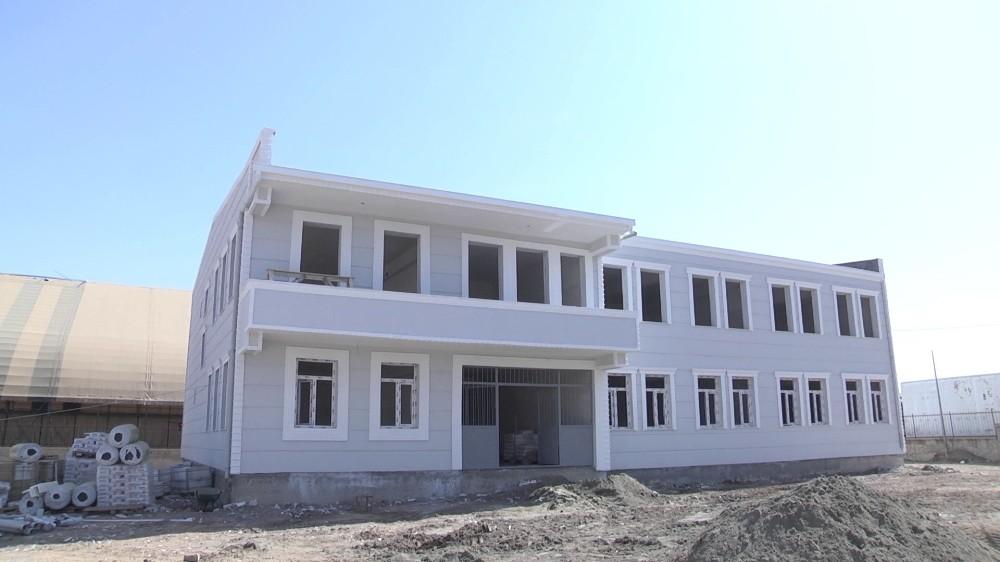 Ebru Yaşar Gülseven İlk-Ortaokulu tamamlanma aşamasına geldi