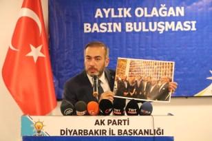 AK Parti Diyarbakır İl Başkanı Aydın 'Hafıza Odası' sergisine tepki gösterdi