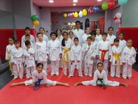 Diyarbakır'da Karate Kuşak Terfi sınavı yapıldı