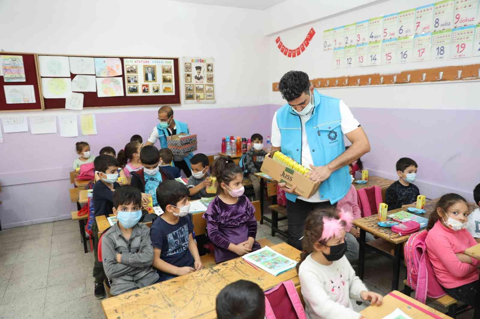 Dünya Gıda Gününde öğrenciler bilgilendirildi