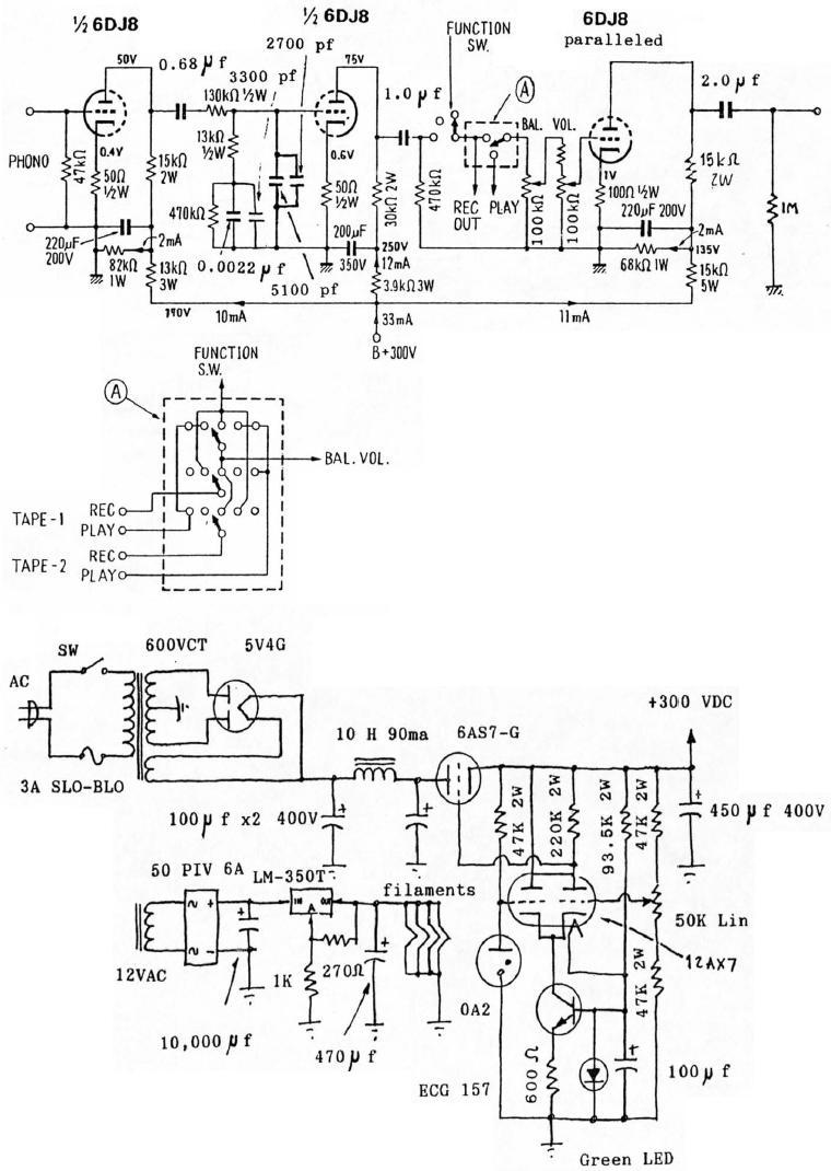 Diy Phono Preamp Circuit