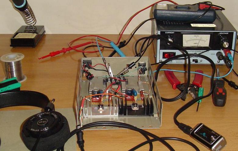 Setting Headphone Amplifier Bias