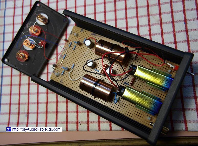 Boozhound Laboratories Jfet Moving Coil Mc Pre Preamp Kit