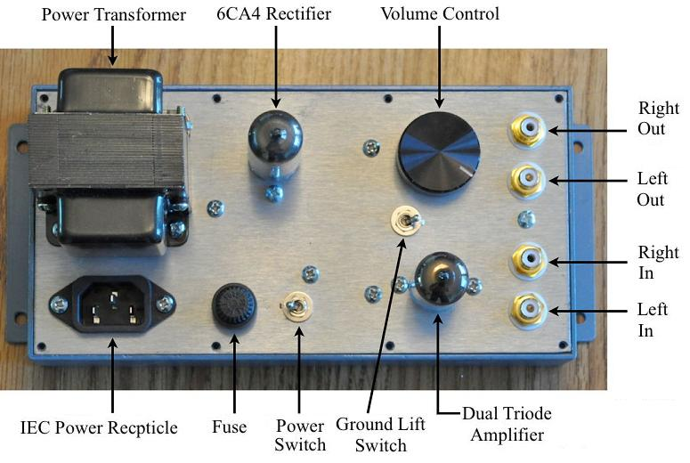 4s Universal Preamplifier For 12a 7 Tubes
