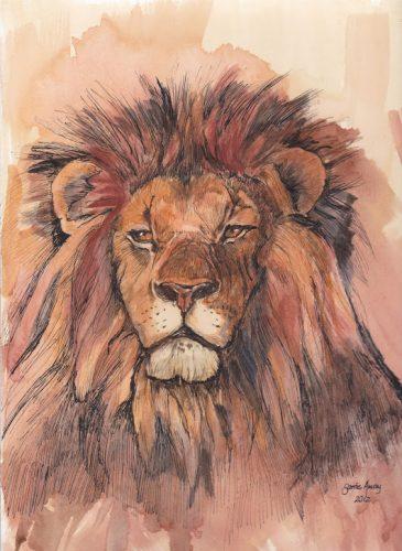 Santie's lion