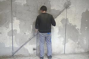 Verputzen und Spachteln - Wände professionell sanieren
