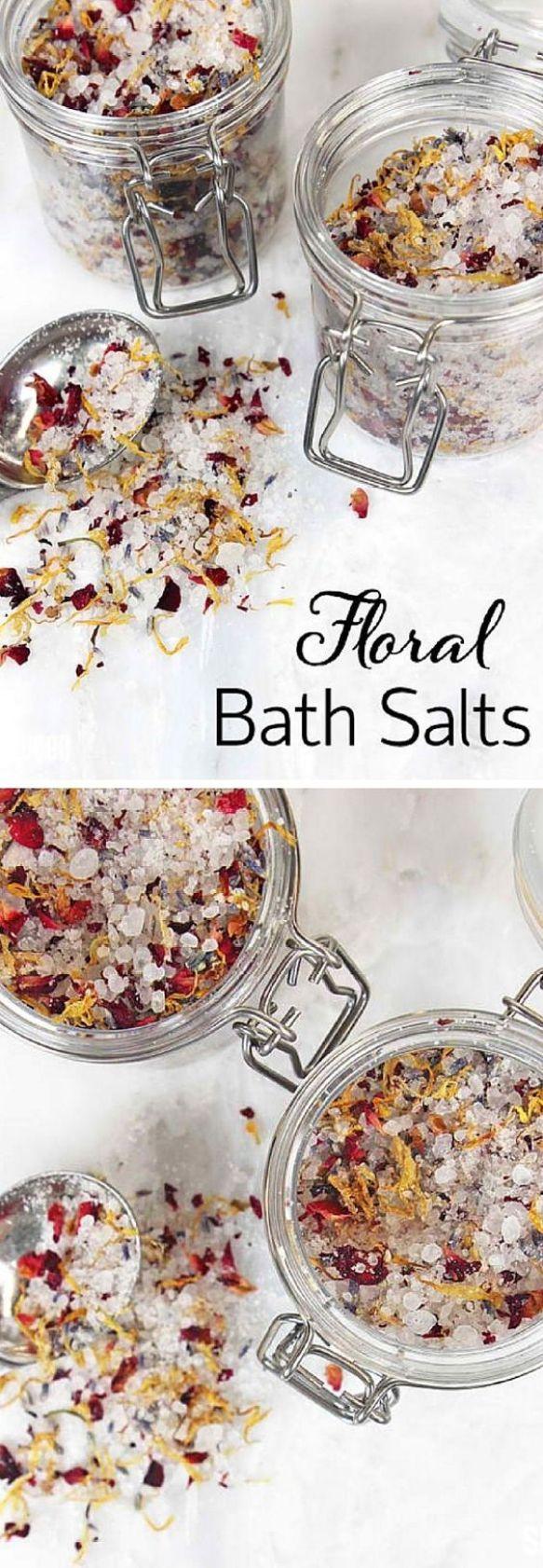 Floral Bath Salts
