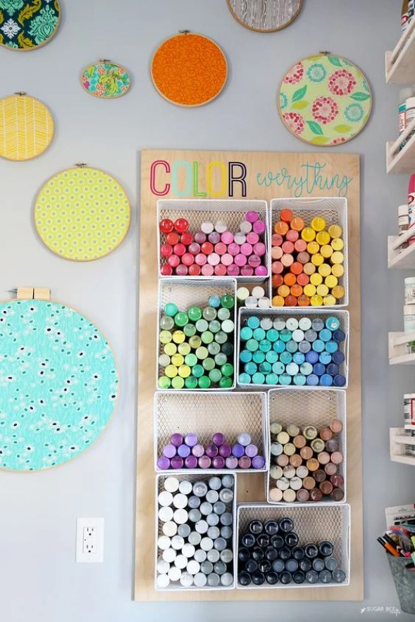 These 16 Craft Rooms Organization Hacks Are A Great Way To Get You Started On Your Crafting Journey!