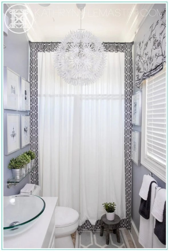 These 14 Bathroom Makeovers Are So GORGEOUS! I love that there are options for both small and large bathrooms. The designs work so perfectly. Can't wait to give my bathroom a makeover!