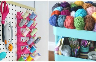 8 Ikea Craft Room DIY Ideas on the Cheap