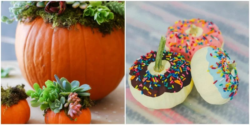 14 Super Safe No-Carve Pumpkin Ideas For Clumsy People And Kids