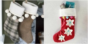 24 Handmade Christmas Stockings Anyone can Make