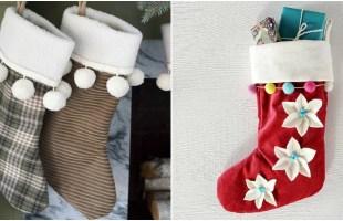 24 Handmade Christmas Stockings Anyone can Make