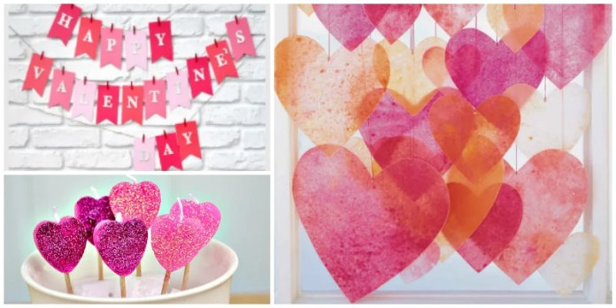 12 Valentine\'s Day Decor Ideas That\'re A Breeze to Make - DIYbunker