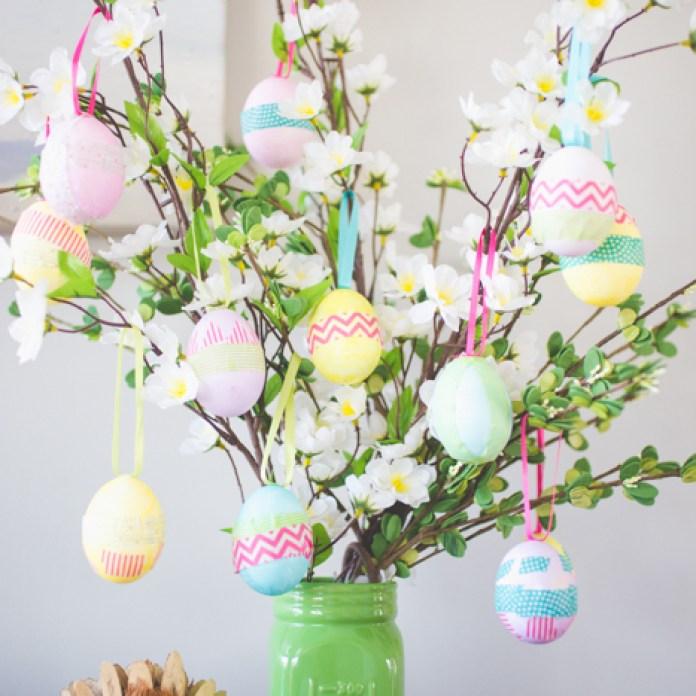 Festive Easter Egg Tree Craft