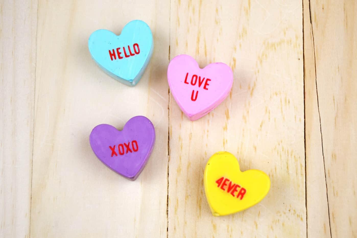 Conversation Heart Valentine S Day Magnets