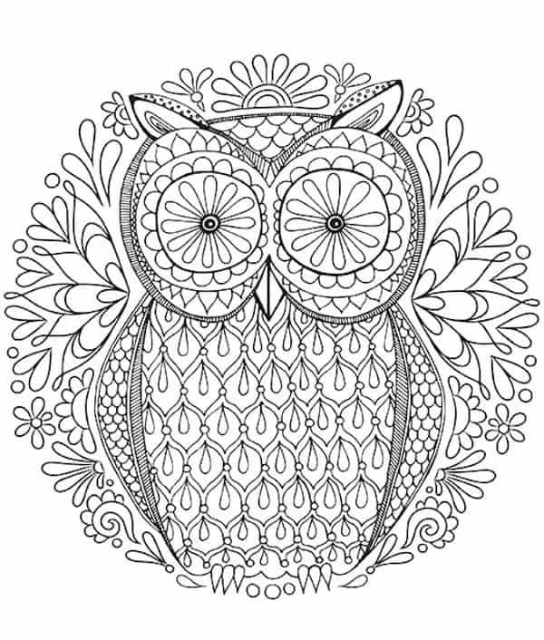 FREE Adult Coloring Pages: My 15 Favorites! - DIY Candy | free fun coloring pages for adults