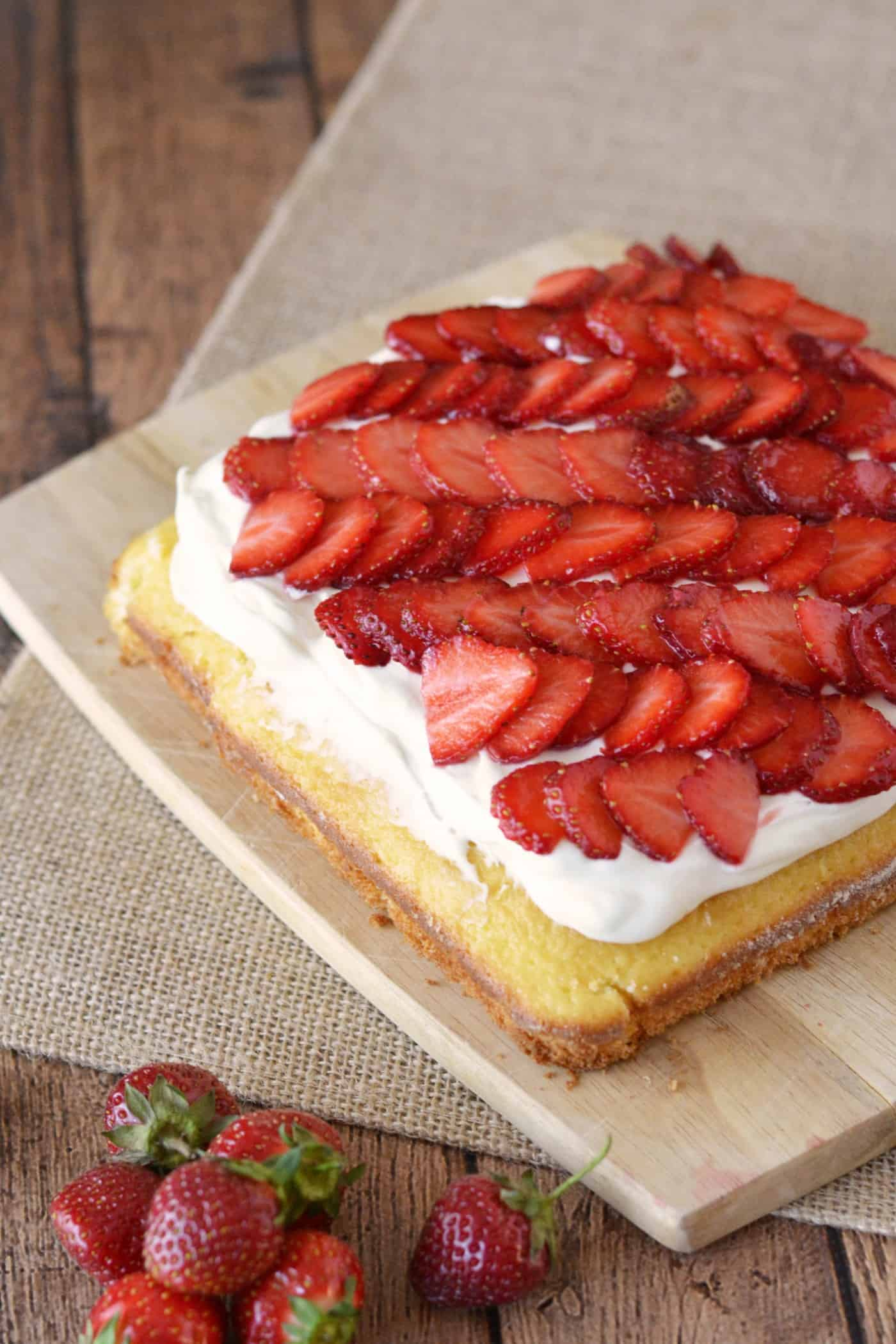 Easy Bake Oven Strawberry Cake Recipe