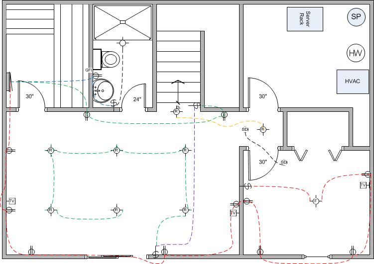 Basement Finish Wiring Diagram