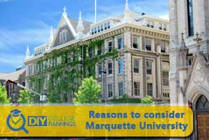 Marquette University campus