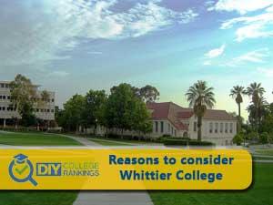 Whittier College campus