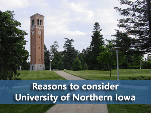 University of Northern Iowa campus
