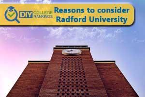 Radford University campus