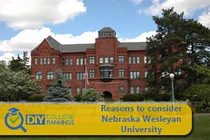 Nebraska Wesleyan University campus