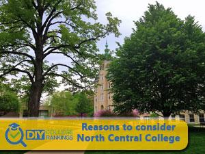 North Central College campus