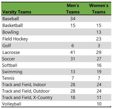 Adelphi University athletic teams