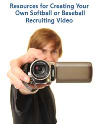 man showing how to create your own recruiting video