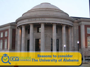 The University of Alabama campus