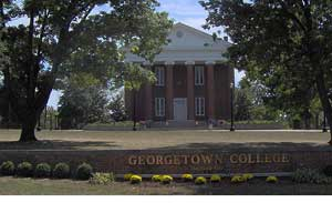 Georgetown College campus